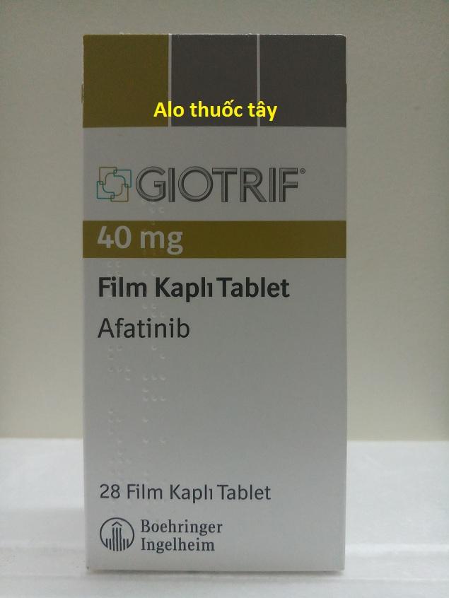 Thuốc Giotrif 40mg Afatinib điều trị ung thư phổi (2)