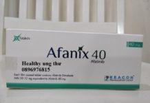 Afanix - Thuốc đích điều trị ung thư phổi di căn